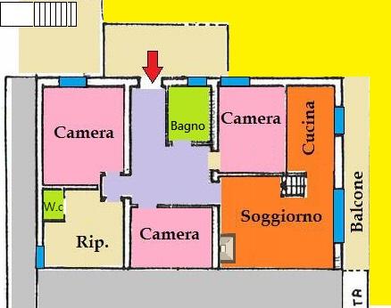 Appartamento 2 - 3 Matrimoniali con Vista Panoramica