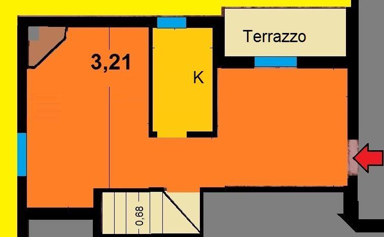 Abetone Uccelliera Trilocale Camino e Terrazzo